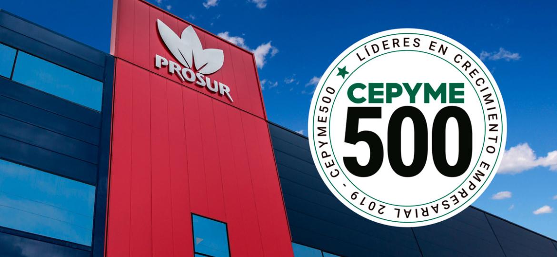 Premio Prosur Cepyme500 2019