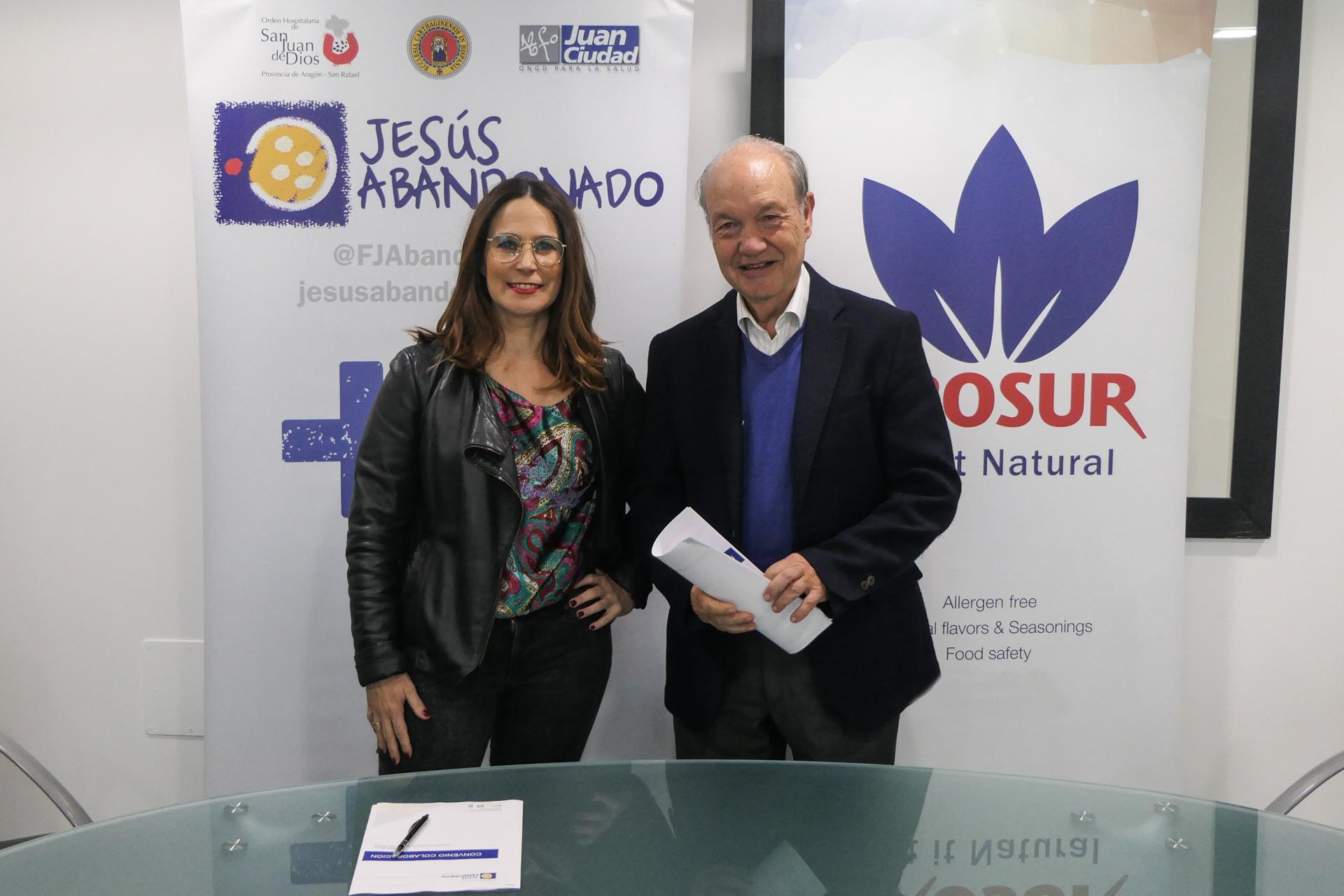 New collaboration agreement with Jesus Abandonado Foundation