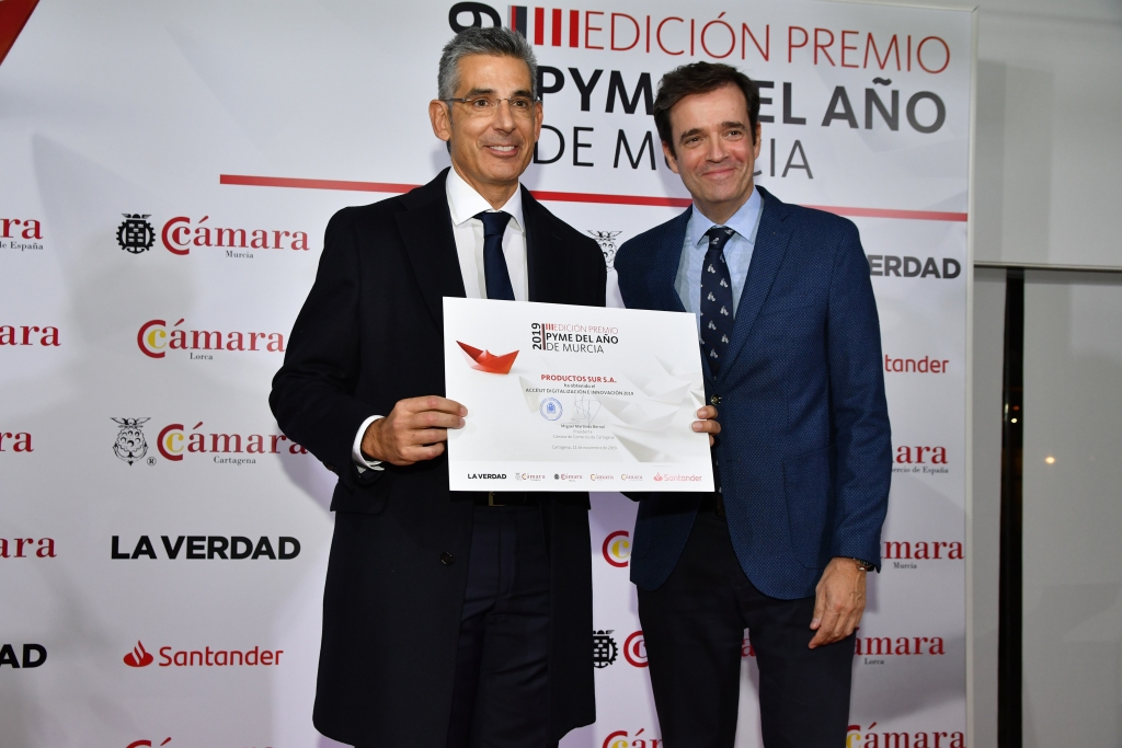 PROSUR AWARDED AT THE SME AWARDS OF THE YEAR 2019